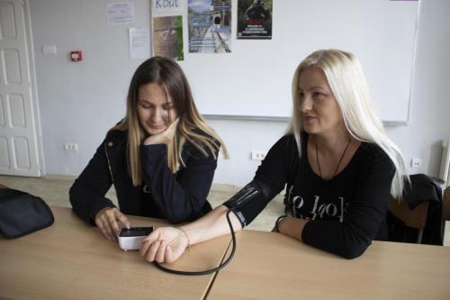 Промоција компаније Мерачи притиска у оквиру интегрисане наставе у школи